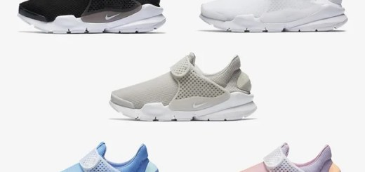 "ナイキ ウィメンズ ソック ダート BR 5カラー (NIKE WMNS SOCK DART BR ""Black/Pale Grey/White/Gradient Blue"") [896446-001,002,100,400,800]"