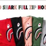 A BATHING APEからシャークフーディー 2ndバージョン「2ND SHARK FULL ZIP HOODIE」5カラーが4/1から発売! (ア ベイシング エイプ)