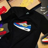 "NIKE+ RUN CLUB OMOTESANDO 限定!Tシャツカスタマイゼーションサービスに新デザイン""AIR MAX 1 ATMOS TIGER CAMO"" 追加!"