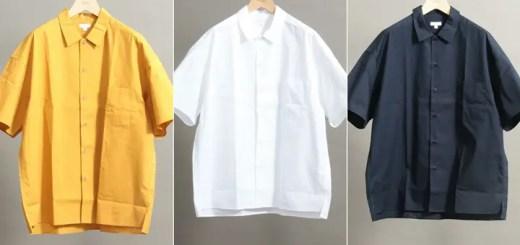web限定!BEAUTY&YOUTHからルーズシルエットのショートスリーブシャツが5月中旬発売! (ビューティアンドユース)