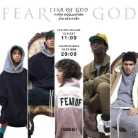 "NUBIANにて、FEAR OF GOD ""BASKETBALL SNEAKER""を含む""FIFTH COLLECTION 2nd DELIVERY""がオンライン 12/10 20:00~発売 (フィア オブ ゴッド)"