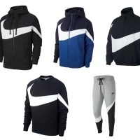"ナイキ スポーツウェア HBR ステートメント (NIKE NSW HBR STATEMENT ""WOVEN JACKET"" ""FULL ZIP HOODIE"" ""CREW SWEAT"" ""PANTS"") [AR3133-010][BQ6459-010,415][BQ6462-010][BQ6468-063]"