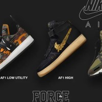 "【NIKE iD】12/18展開!NIKE × MAHARISHI BY YOU ""AIR FORCE 1 LOW UTILITY"" ""AIR FORCE 1 HIGH"" ""AIR MAX 270 BOWFIN"" (ナイキ マハリシ)"