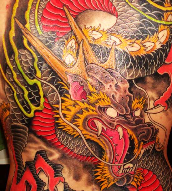 dragon tattoo tattoo design for men