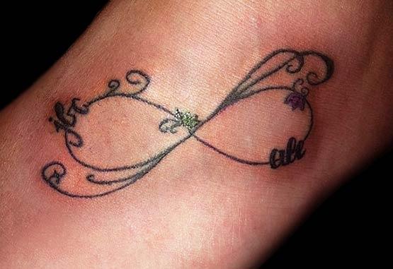 Celtic infinity tattoo designs
