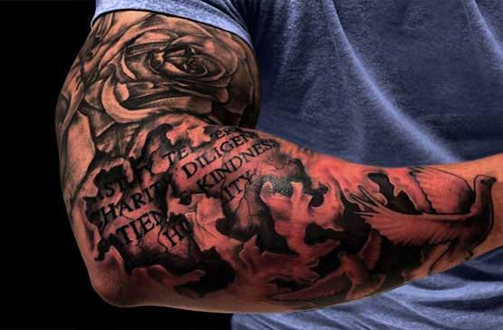 Full Sleeve Tattoo Designs For Men