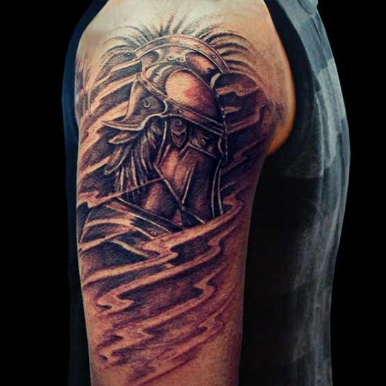 Cool Half Sleeve Tattoo Designs For Men Arms