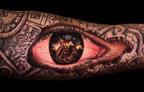 Men's Full Sleeve Tattoo Designs
