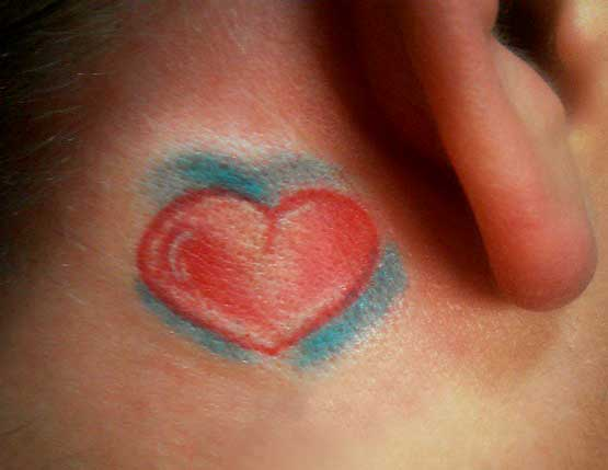 Small Tattoo Ideas Behind Ear