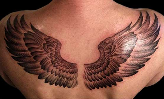 Wing Tattoo Designs For Men