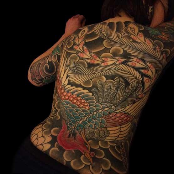 Full Body Tattoo Girl