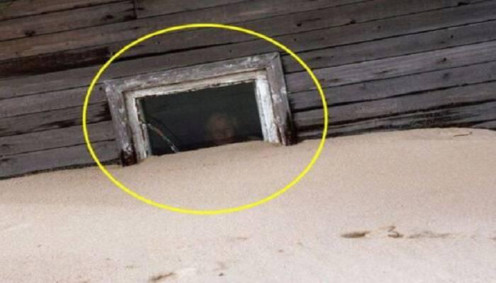 Το χωριό που χάνεται κάτω από την άμμο και εμφανίζεται ξανά! (photos)