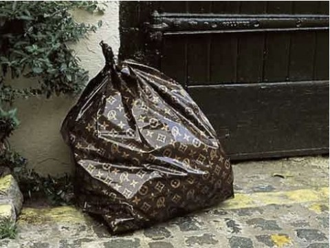 LV Trash bag