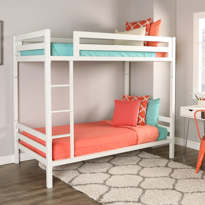 Large Of White Bunk Beds
