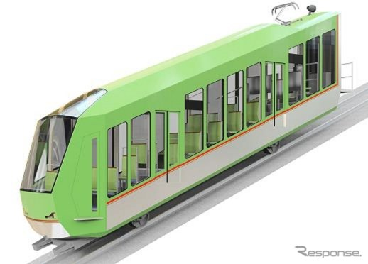 New cars for Ôyama funicular