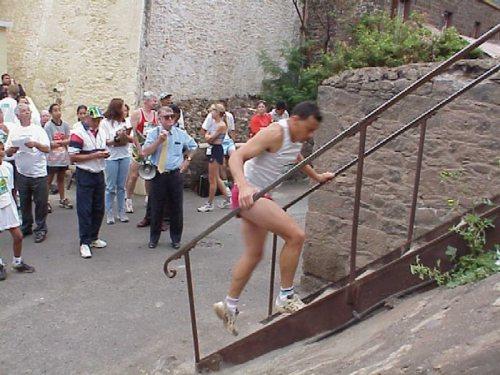 Jacob's Ladder race / course d'ascension de l'escalier