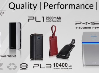 LUXA2 portable power banks with 2-year warranty