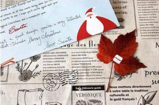 正宗聖誕老公公 寄卡片給你