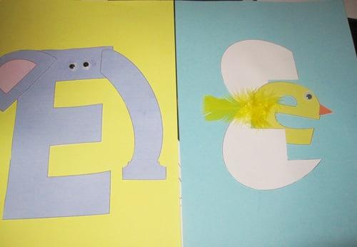 Preschool – Letter E