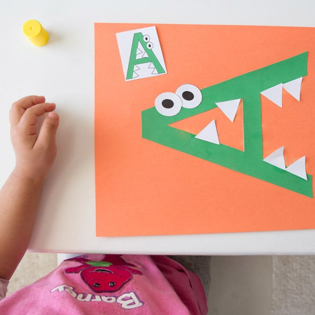 preschool printable letter of the week crafts