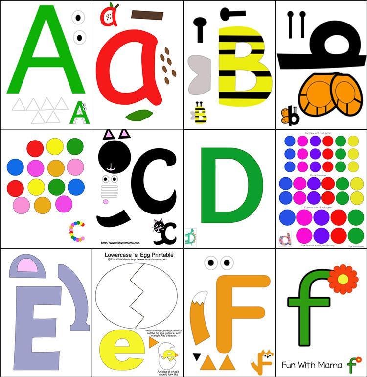 Free Printable Alphabet Crafts