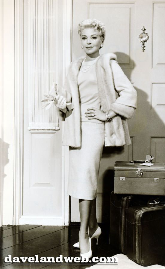 Lana Turner in her movie role Imitation of Life
