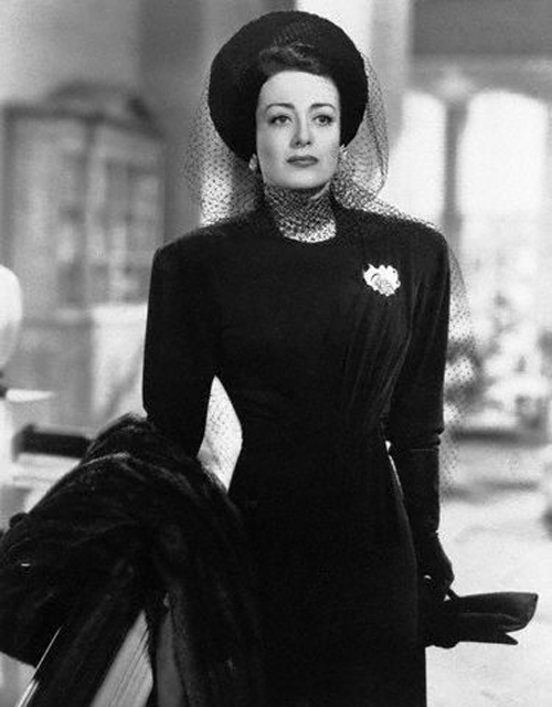 Portrait of Joan Crawford in Mildred Pierce