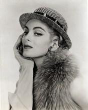 1954 photo of Carmen Dell Orefice