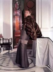 Suzy Parker in Christian Dior, Vogue, October 15, 1953