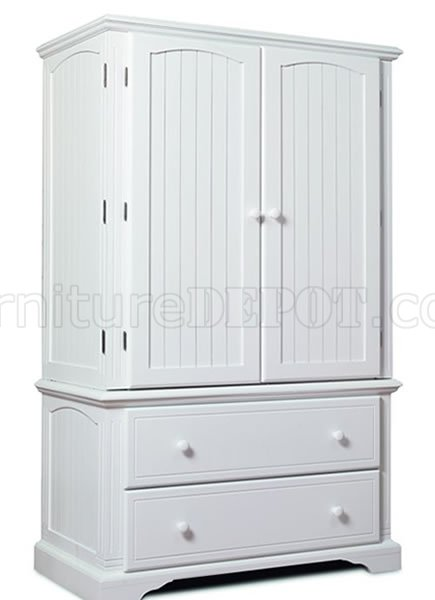 White Armoire With Drawers Furniture Depot26