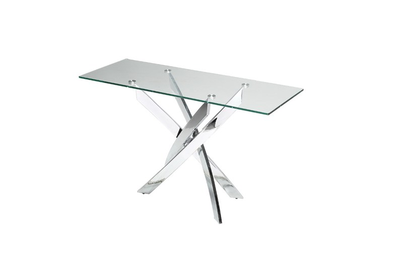 Large Of Glass Console Table