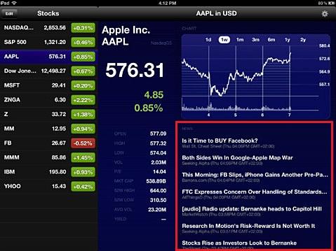Stock Market HD - Stocks Newsfeed