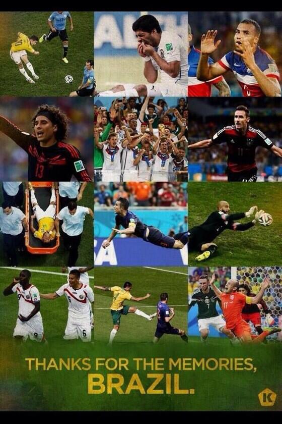 Most memorable moments FIFA 2014