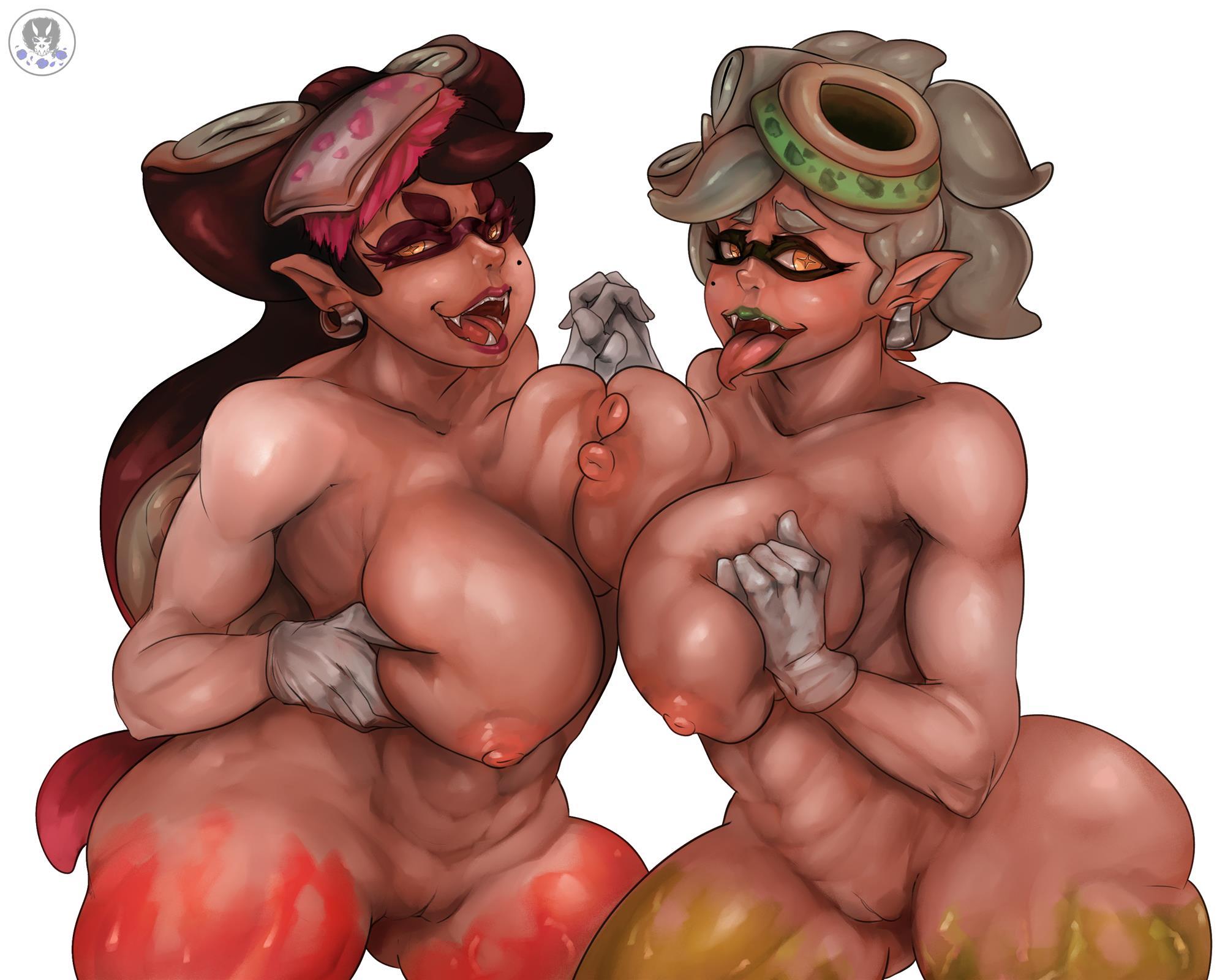 splatoon callie and marie hentai