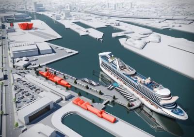 Belfast Cruise Ship Terminal - Future Belfast