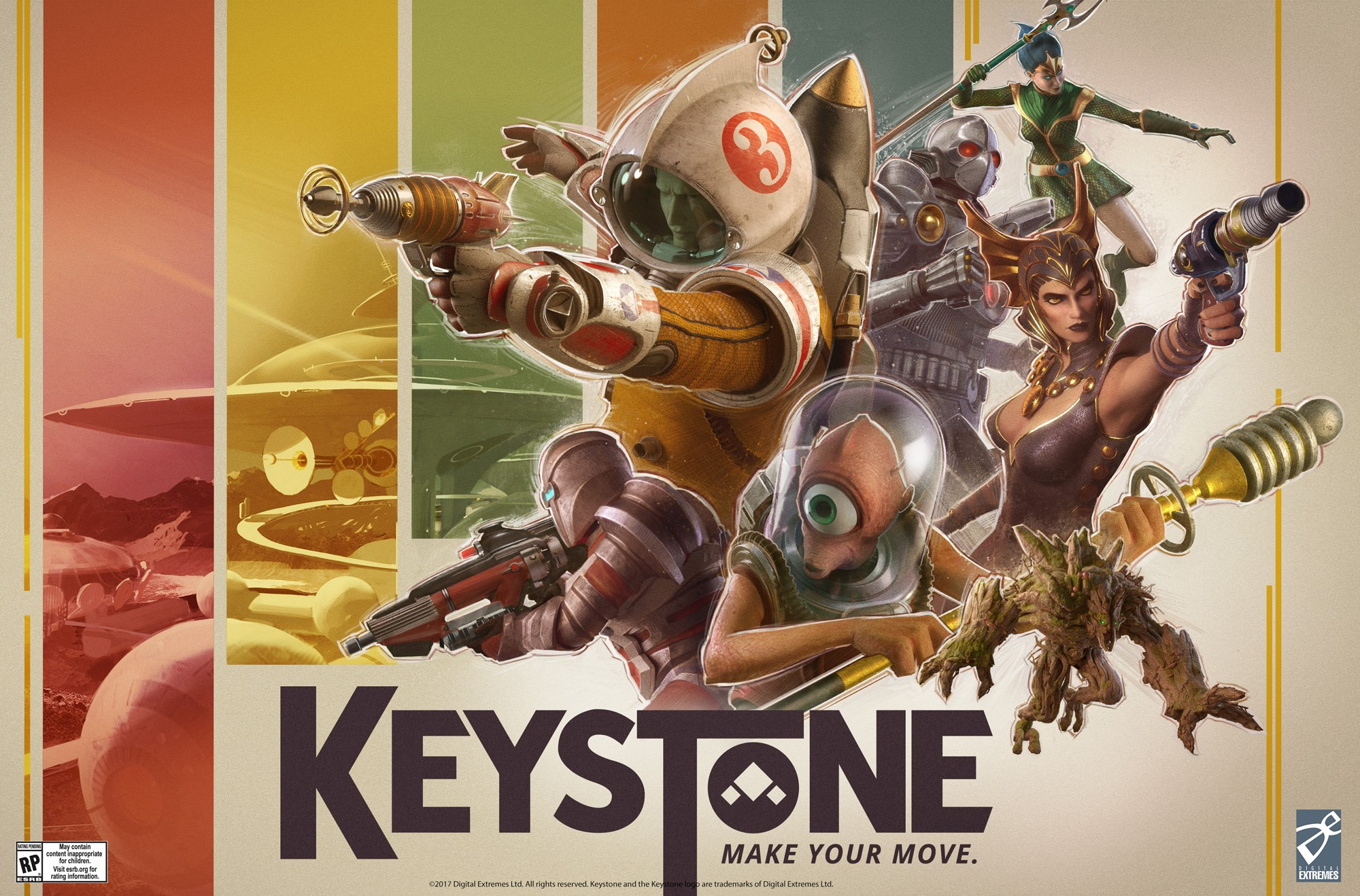 Keystone - Alpha Sign-Up
