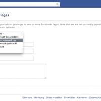 Facebook Hilfe - Wenn man keine Admin-Rechte mehr für die eigene Facebook Seite hat