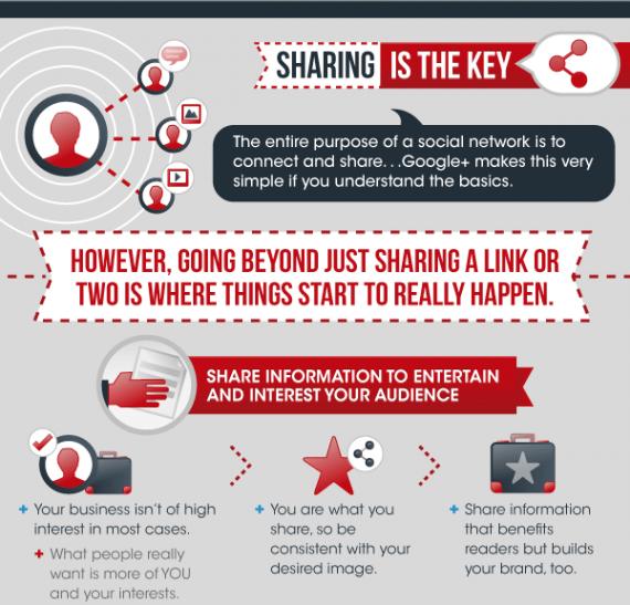 Infografik: Google+ für Unternehmen