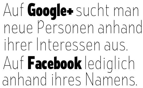 Interessen - soziale Netzwerke