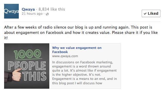 20 % Text - Facebook Anzeigen Vorschaubilder