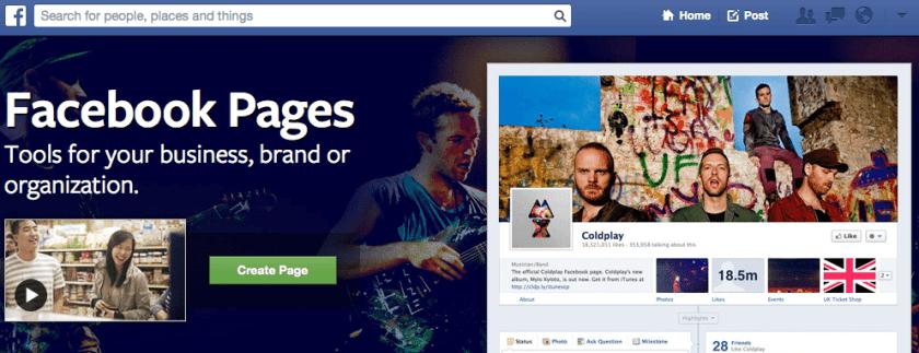 18 Mio. Facebook Seiten 2013