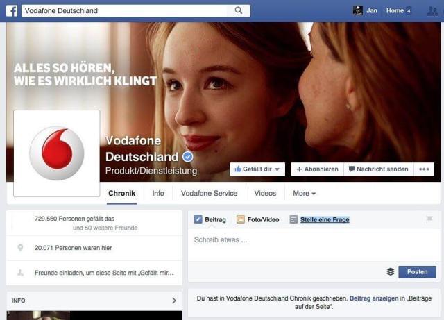 Facebook Community Management - Stelle eine Frage Feature für Kunden