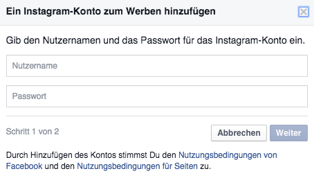 Instagram Profile mit dem Facebook Business Manager verbinden