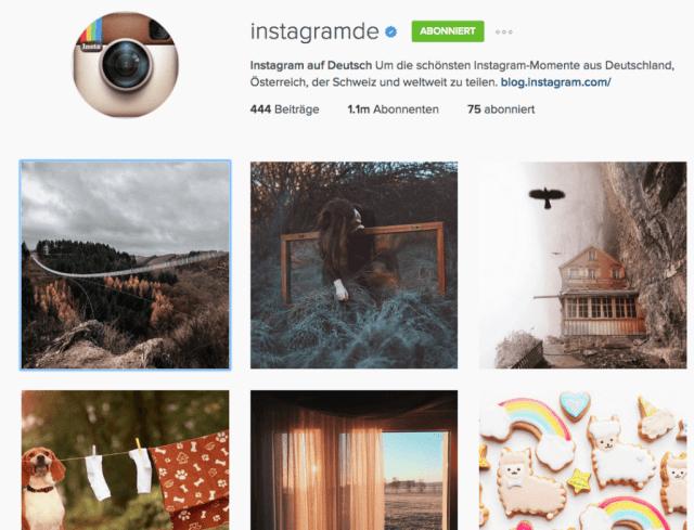 Instagram Nutzerzahlen - 9 Millionen Nutzer in Deutschland