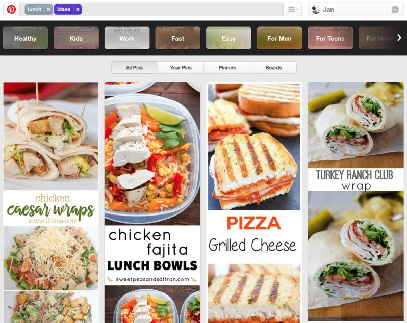 Pinterest Suchmaschine wird zur Ideensuchmaschine