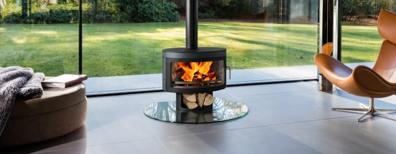 Large Of Modern Wood Burning Stove