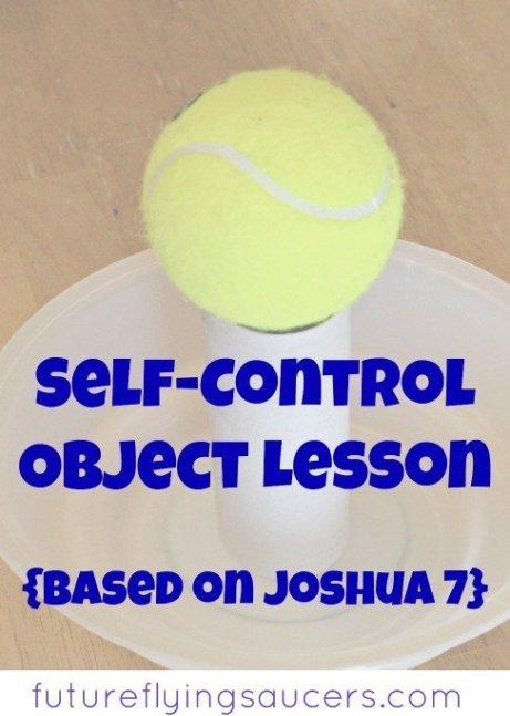 self control object lesson