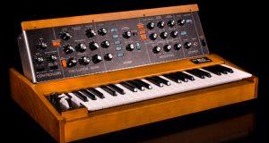 El sintetizador Minimoog Model D entra de nuevo en producción