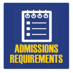 admissions requirements banner