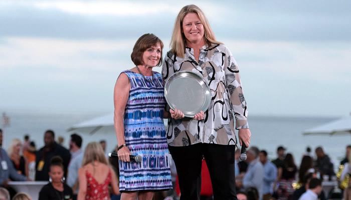 District Director Carolyn Peters and Carolyn Greer